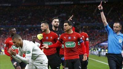 Mbappé estará dos partidos más sin jugar