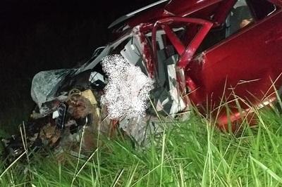 Grave accidente de tránsito cega dos jóvenes vidas