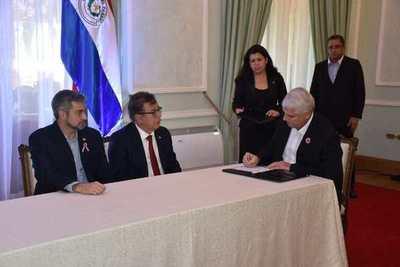 EBY y MOPC firman convenio de trabajo que beneficiará a Misiones