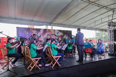 """Coca-Cola Paresa y Sonidos de la Tierra presentan proyecto """"H2O Sonidos de Ñemby"""""""