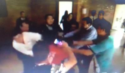 A los golpes en pasillos de la Junta Municipal de CDE