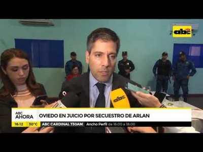Oviedo en juicio por secuestro de Arlan