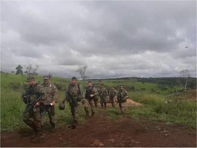 Policía Nacional captó videos del tiroteo en Amambay, afirma el comandante