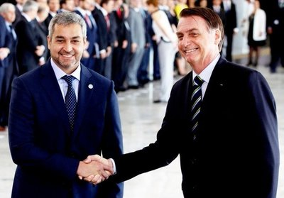 Abdo y Bolsonaro darán palada inicial de puente el 10 de mayo