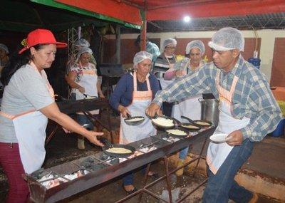 Exitoso Festival del Mbeju en General Resquín