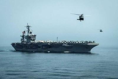 """EEUU envía portaaviones y bombarderos a Medio Oriente, en """"mensaje"""" a Irán"""
