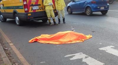 Mujer muere arrollada en CDE
