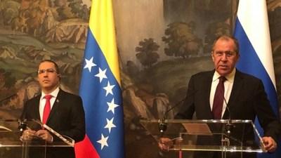 Canciller de Venezuela asegura que están listos ante eventual ataque militar de EEUU