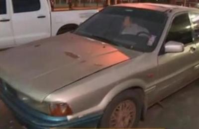 Aparece vehículo de presunto feminicida