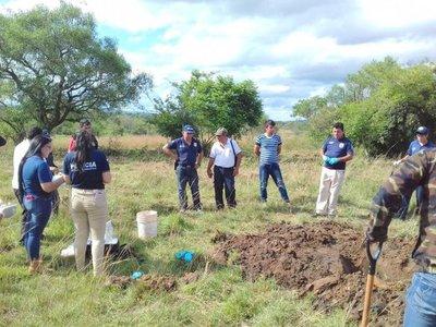 Hallan restos óseos en Acahay y decretan prisión de 4 personas
