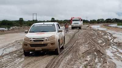 SEN inició entrega de víveres a afectados por inundaciones en Presidente Hayes y Ñeembucú