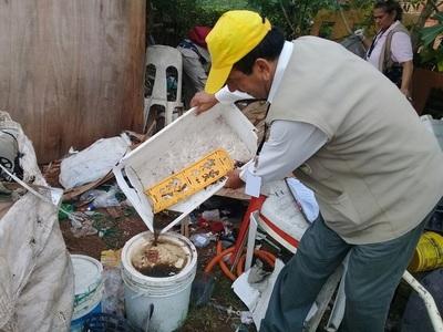 Alto Paraná y Amambay lideran la cantidad de casos de dengue