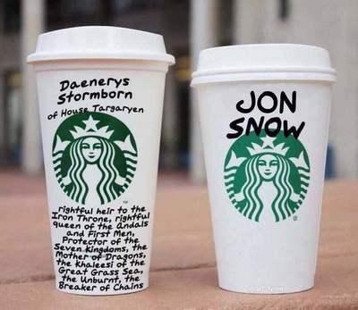 Llueven críticas por el Starbucks de Winterfell