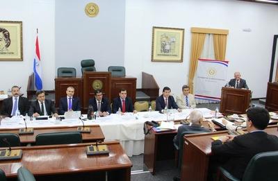 Finaliza penúltima jornada de audiencias de postulantes para ministro de la CSJ