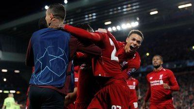 Liverpool es el primer finalista de la Champions