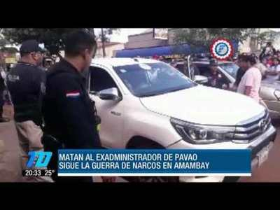 Asesinan al exadministrador de Jarvis Chimenes Pavão