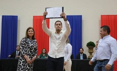HOY / Proclaman a Miguel Prieto como nuevo intendente de Ciudad del Este