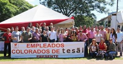 Pablino Cáceres recibió apoyo de colorados de Tesãi