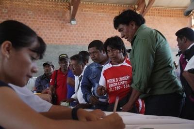 Tenonderã: 389 familias del Chaco reciben capital semilla