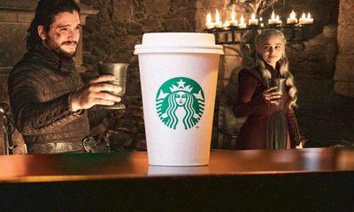Starbucks obtuvo más de 2 mil millones en publicidad gratuita gracias a Game of Thrones