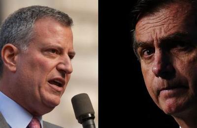 Alcalde de Nueva York le dice 'hasta nunca' al presidente Bolsonaro