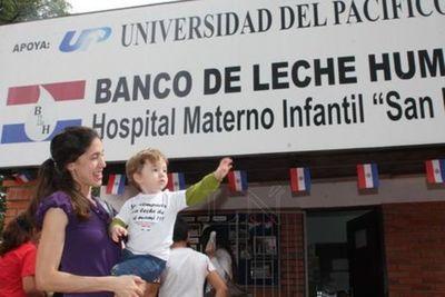 Paraguay inaugura primera Red de Bancos de Leche Humana