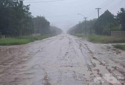 Lluvias no paran en el Chaco Central