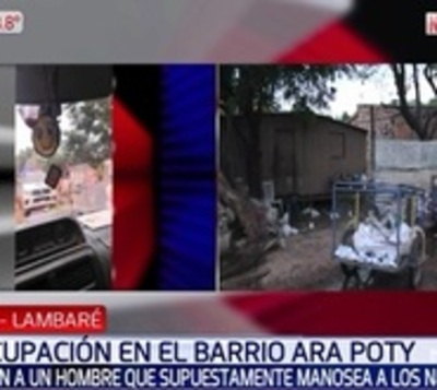 Denuncian a hombre que supuestamente manosea a niños en Lambaré