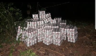Recuperan 89 packs de cervezas en Belén