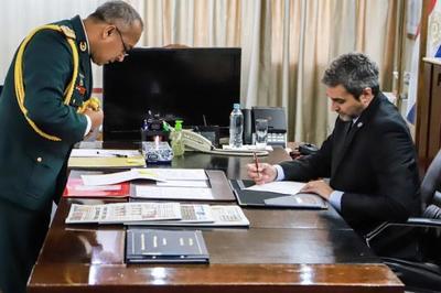 Mandatario cumplirá tareas castrenses en sede de la Dimabel en Pribebuy