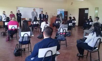Realizan examen de concurso de ingreso y promoción en Caacupé