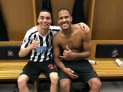 Elegido mejor jugador del año del Newcastle