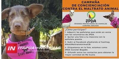 CNEL. BOGADO: INICIA CAMPAÑA DE CONCIENCIACIÓN CONTRA EL MALTRATO ANIMAL
