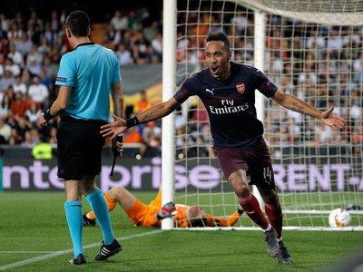 Aubameyang impide la gesta del Valencia