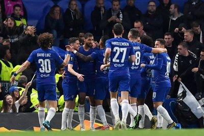 Chelsea celebra y está en la final de la Europa League