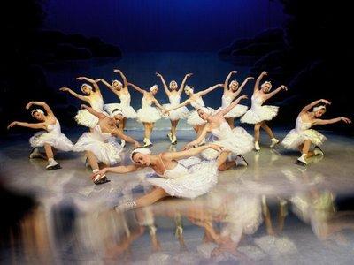 Presentarán El lago de los cisnes sobre hielo en Asunción