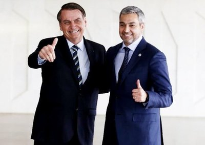 Marito y Bolsonaro dan inicio a las obras del segundo puente