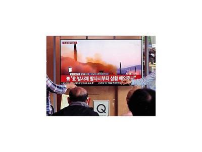 Crece la tensión por disparos de misiles de  Corea del Norte
