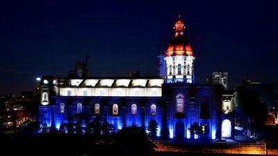 Celebran restauración de iglesia de la Encarnación
