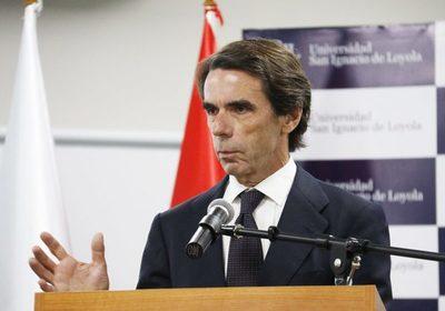 Aznar quiere atraer mayor inversión en Paraguay