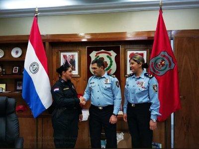 Felicitan a la policía que evitó una pelea entre colectivero y Chilavert