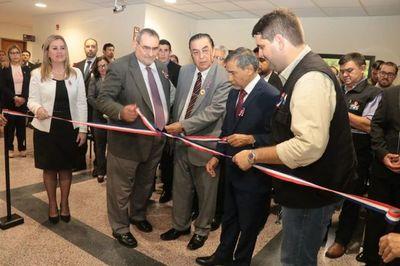 Se inauguró la oficina registral en Caazapá