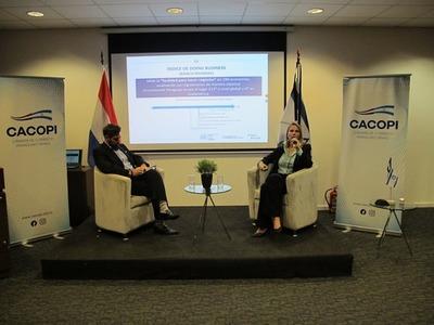 Cacopi realizó conversatorio sobre clima de negocios