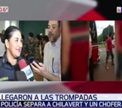 """Mujer policía que evitó pelea: """"Estoy preparada para la guerra"""""""