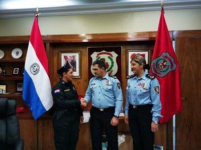 Felicitan a Policía que evitó pelea entre chofer y Chilavert