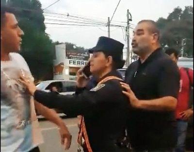 Felicitan a Policía que evitó pelea