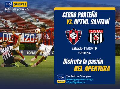 Cerro Porteño busca afianzarse en el segundo lugar