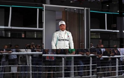 Bottas logró la pole en España