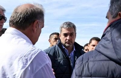 Marito insistirá al Congreso la aprobación de la Defensa Costera en Pilar