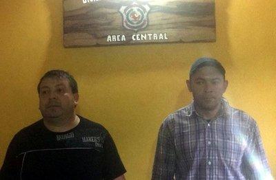 Dos detenidos tras frustrado golpe a casa de cambios en San Lorenzo